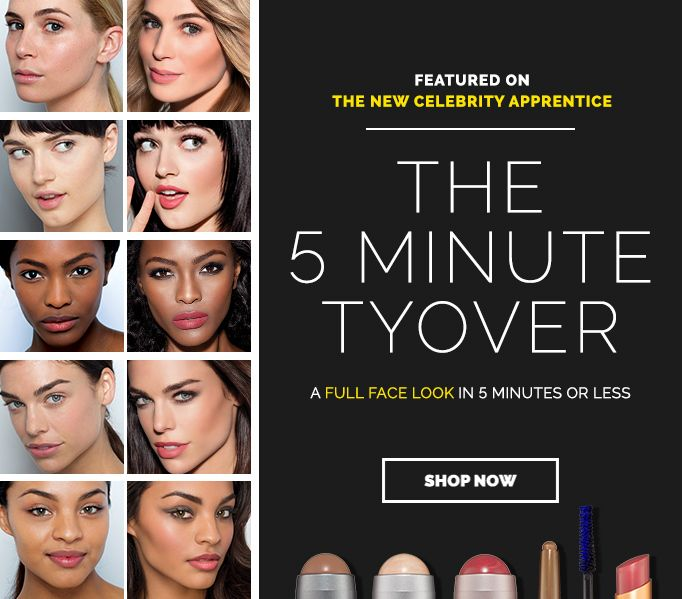 Win a free 5 MINUTE TYOVER set from Tyra Beauty